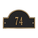 Arch Address Plaque Petite Wall