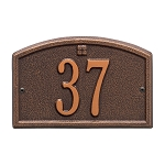 Cape Charles Address Plaque Petite Wall