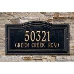 Arbor Address Estate Plaque Wall