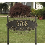 Essex Gateway Address Plaque Lawn