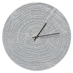 End Grain Indoor/Outdoor Wall Clock