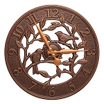 Woodridge Outdoor/Indoor Wall Clock