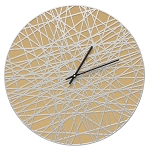 Banded Indoor/Outdoor Wall Clock