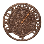 Flourish Indoor/Outdoor Wall Thermometer