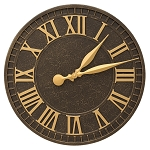 Geneva Indoor/Outdoor Wall Clock