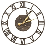 Martini Floating Ring Indoor/Outdoor Wall Clock