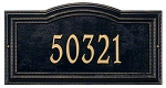 Arbor Address Plaque Wall 1 Line