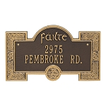 Celtic Failte Welcome Plaque