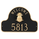 Pineapple Welcome Plaque Wall