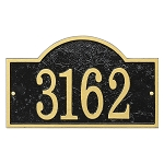 Arch House Number Plaque Fast & Easy