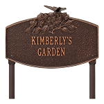 Butterfly Blossom Garden Personalized Lawn Sign