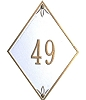 Lefleur Address Plaque 4.5 Inch Numbers