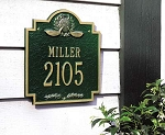 Golf Emblem Address Plaque
