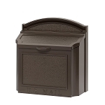 Whitehall Wall Locking Mailbox French Bronze