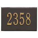 Whitehall Mailbox PLAQUE ONLY French Bronze