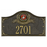 Military Service Wall Plaque 1 Line - Military Family