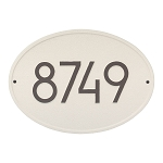 Hawthorne Modern Address Plaque Wall