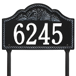 Rope Shell Address Plaque Lawn