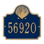 Conch Address Plaque 1 Line
