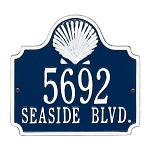 Conch Address Plaque 2 Line