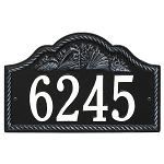 Rope Shell Address Plaque Wall