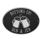 Personalized Beer Mugs Plaque