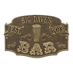 Established Bar Wall Plaque