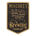Original Recipe Brewing Company Wall Plaque