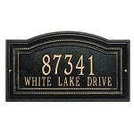 Arbor Address Plaque Wall