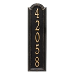 Manchester Vertical Address Plaque