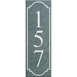 Slate Address Plaque Wall Vertical
