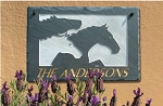 Three Horses Personalized Plaque