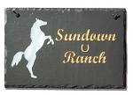 Horse Theme Plaque