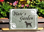 Dog Garden Memorial Plaque