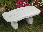 I Thought Of You With Love Today Personalized Bench