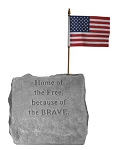 Home of the Free Service Memorial Stone