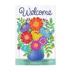 Bring Me Flowers Suede House Flag (29 in. x 43 in.)