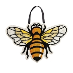 Bee Hooked Door Hanger (14 in. x 23 in)