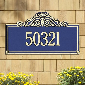 Villa Nova Address Plaque