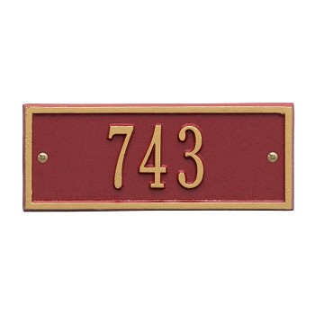 Hartford Address Plaque Petite