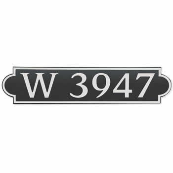 Composite Address Plaque: Model 657H