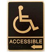 Wheelchair with Arrow (CA required)