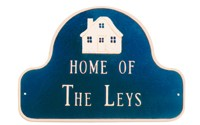 Home of Family Name Plaque
