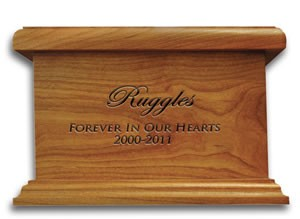 Engraved Urn for Pet