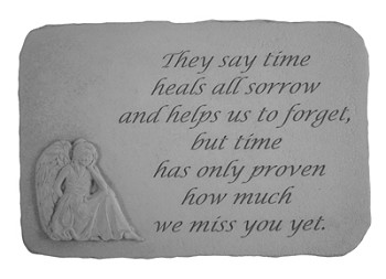 Memorial Stone - They say Time Heals..w/Angel