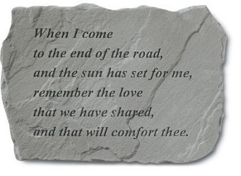 Memorial Stone - When I Come To The End Of The Road..