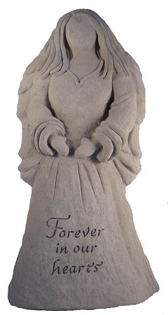 Angel Statue - Forever In Our Hearts..