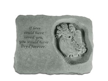 Angel Memorial Stone - If Love Could Have..