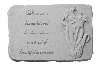 Memorial Stone - Wherever A Beautiful Soul