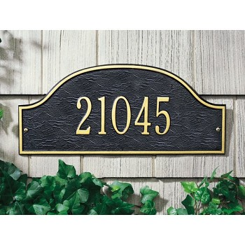 Admiral Address Plaque Wall 1 Line
